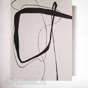 abstrakcja-praca formatu 24/32 cm, abstrakcja, akwarela