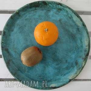 artystyczna patera ceramiczna, nowoczesna, patera, talerz, ceramiczny, ceramiczna