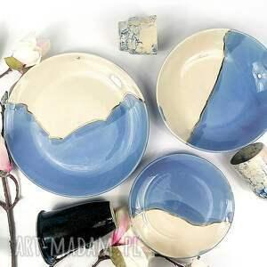 komplet talerzy ceramicznych dla 2 osób, talerz, miska, talerzyk, patera