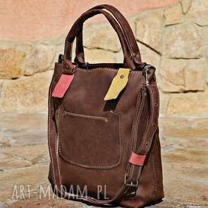 torebka torba ręcznie robiona, torba, skórzana, na ramie, torebki