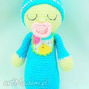 handmade lalki szydełkowa lalka bobas