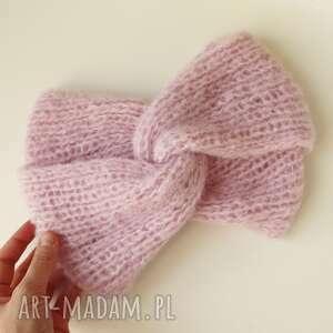 Audrey headband opaski s g knitwear alpaca headband, opaska