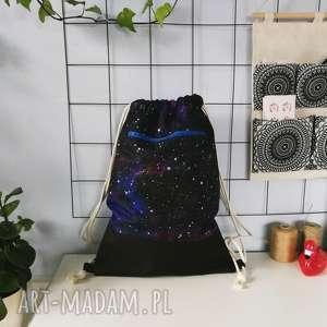 oryginalny prezent, plecaki plecak worek kosmiczny, plecak, worek, kosmos, kosmiczny