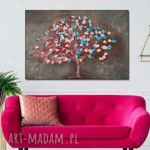 Obraz drzewo słodyczy 120 x 80, nowoczesny na ścianę do salonu