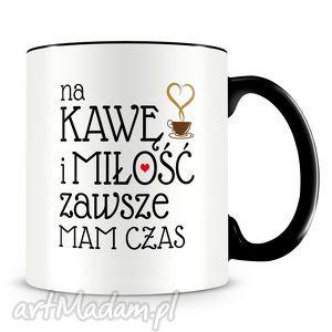 kawa i miłość - kubek z nadrukiem, kubek, kawa, miłosć, kawy, prezent