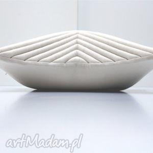 poduszki kremowa poduszka - chevron 50x50, kremowapoduszka, designerskapoduszka