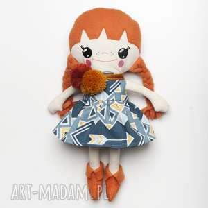 Bawełniana Lalka LALALILA - Poofy Cat, lalka, lala, laleczka, materiałowa