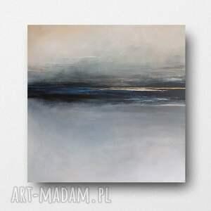 bezczas-obraz akrylowy formatu 50/50 cm, abstrakcja, akryl, kwadrat, obraz