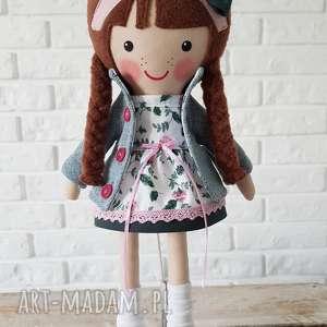 malowana lala zuza, lalka upominek świąteczny, przytulanka dla dziecka