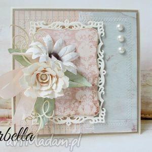 scrapbooking kartki młodej parze z pudełkiem, ślub, pudełko, życzenia, gratulacje