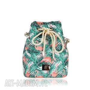 torebka taszka mini 1228, taszki, worek, mini, flamingi wyjątkowy prezent