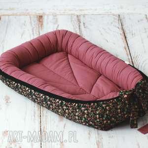 kokon niemowlęcy - czarna łąka, kokon, łóżeczko, dziecko, niemowle, gniazdo