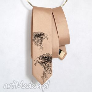 creo krawat orły, krawat, nadruk, orzeł, śledzik, prezent, oryginalny