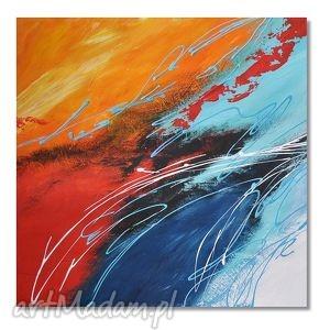 abstrakcja mk2, nowoczesny obraz ręcznie malowany, abstrakcja, nowoczesny