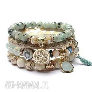 mint and ivory vol 3 /02-09-20/ set, kamienie, minerały, zawieszki, ki ka