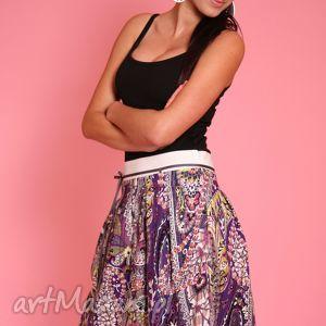 ręcznie robione spódnice wzorzysta spódniczka z ozdobną