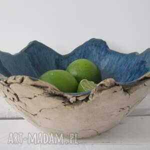 granatowa skała miska ceramiczna, dekoracyjna, miska, prezent parapetówka, skalista
