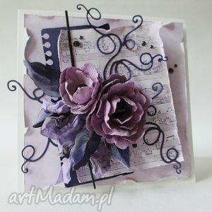 fiolet i wrzos - życzenia, gratulacje, imieniny, babcia, mama