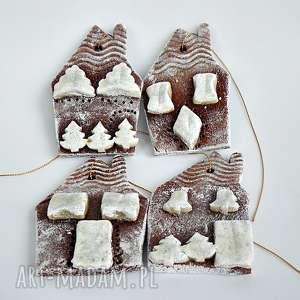 zawieszki choinkowe domki świąteczne kolekcja weihnachten - święta