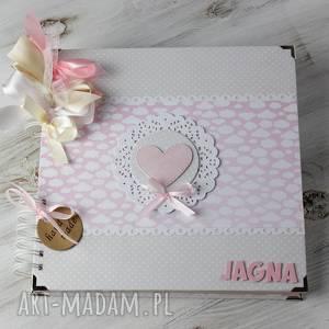 album z sercem - ślub, chrzest, prezent, roczek wesele