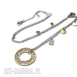 Alloys Collection - Line /circle /naszyjnik , stal, szlachetna, chirurgiczna