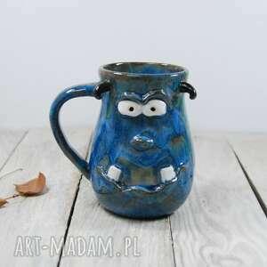 ceramika kubek ceramiczny potworek, do kawy, herbaty, na prezent