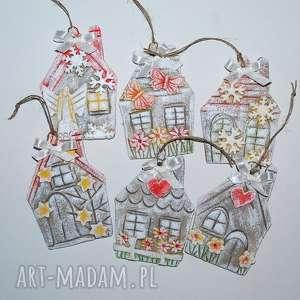 Pomysł na upominki święta: Domków 6 ozdoby świąteczne magosza