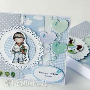 Prezent Kartka na urodziny , kartka, urodziny, prezent, chłopiec