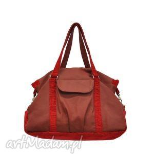 07a24b13d771e Plenty More • Czerwone unikalne - Na ramię torebki do ręki czerwone