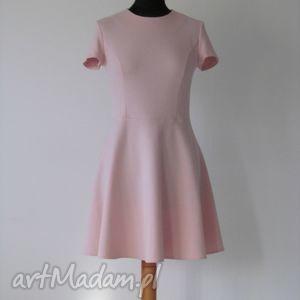19 - sukienka rozkloszowana, sukienka, sukienki, dzianina, półkoło