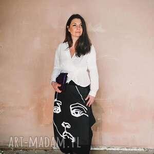 Face to spodnie ququ design maxi spodnie, alladyny, szarawary
