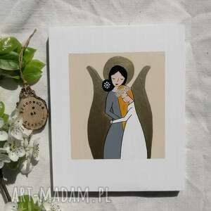 dla dziecka anioł stróż dziewczynki pamiątka komunijna - no2