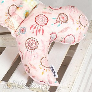 motylek- poduszka antywstrząsowa łapacze róż, motylek, poduszka