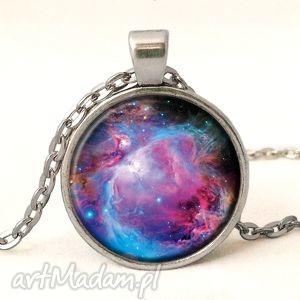 hand made naszyjniki nebula - medalion z łańcuszkiem