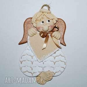 Anioł - marin ma pamiątkę dla dziecka magosza aniołek, masa