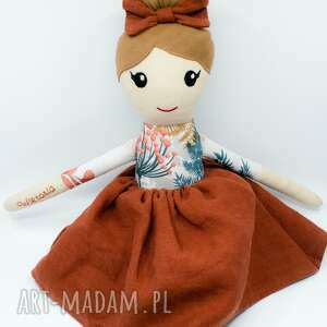 lalka szmaciana, szmacianka, szmaciana laleczka, handmade, lala