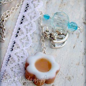 świąteczny prezent Zimowe ciasteczka, modelina, fimo, galaretka, kokardka