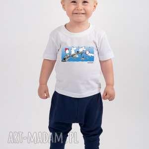 licencjonowana koszulka dziecięca muminki nad wodą, dla dzieci, muminki, legenda