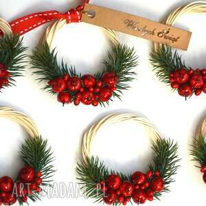 Na święta upominki? 6 x miniwianki dekoracje wooden love wianek
