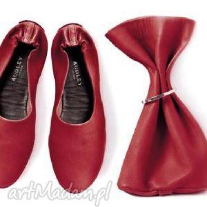 handmade buty swap red
