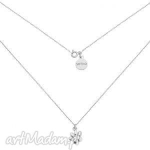 sotho srebrny naszyjnik z łapką - minimalistyczny, łapka
