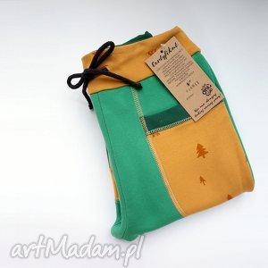 only one no 011 - spodnie dziecięce 134 cm, dzianina, dres, eco, recykling, bawełna