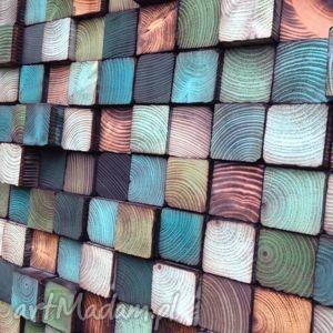mozaika drewniana - na zamówienie, mozaika, obraz, ściana, ozdoba, dekoracja