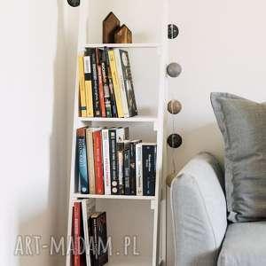 Biblioteczka drabinka drabina półka regał dom hagal regał