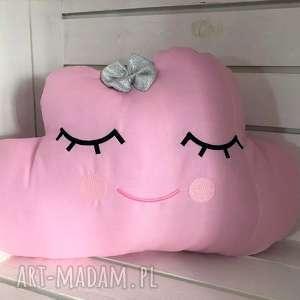 Poduszka chmurka różowa, poduszka, chmurka, przytulania, ozdoby, pokoju
