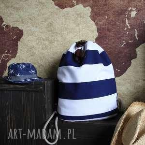 plecak city backpack - marine wave, plecak, torba, marine, marynistyczny, wakacje