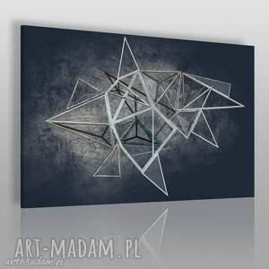 obraz na płótnie - loft geometryczny 120x80 cm 60601, loft, industrialny