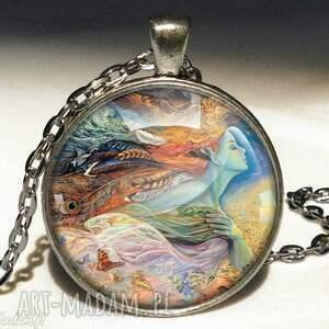 senne marzenia - duży medalion z łańcuszkiem - duży, senne, medalion