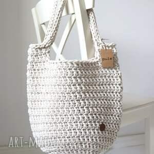 pule torba ze sznurka bawełnianego gwiezdny pył, na zakupy, lato