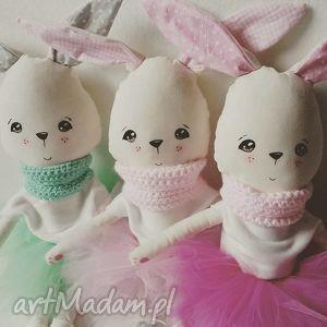 hand-made maskotki króliczki